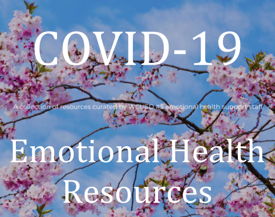 COVID-19 Emotional Health Resources