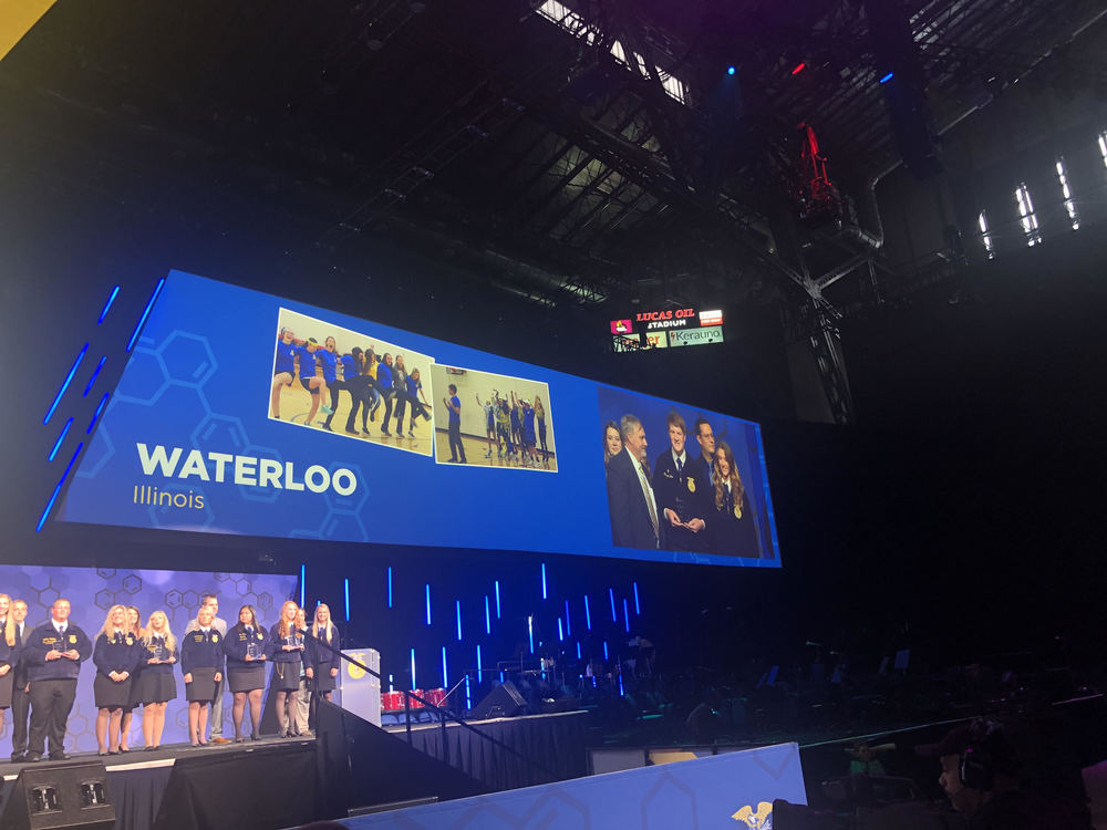 Waterloo FFA is Top Chapter in the Nation for Growing Leaders!