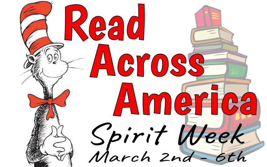 Read Across America Spirit Week 3/2-3/6