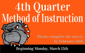 4th Quarter Method of Instruction