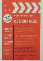 Red Ribbon Week/Picture day
