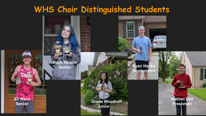 WHS Choir Recognition