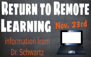 Return to Remote Learning