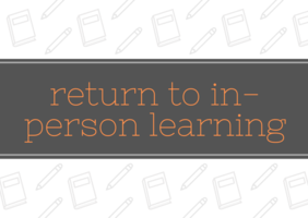Return to In-Person Learning - WJHS