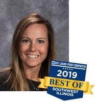Mrs. Augustine - 2019 Best Teacher of Southwest Illinois