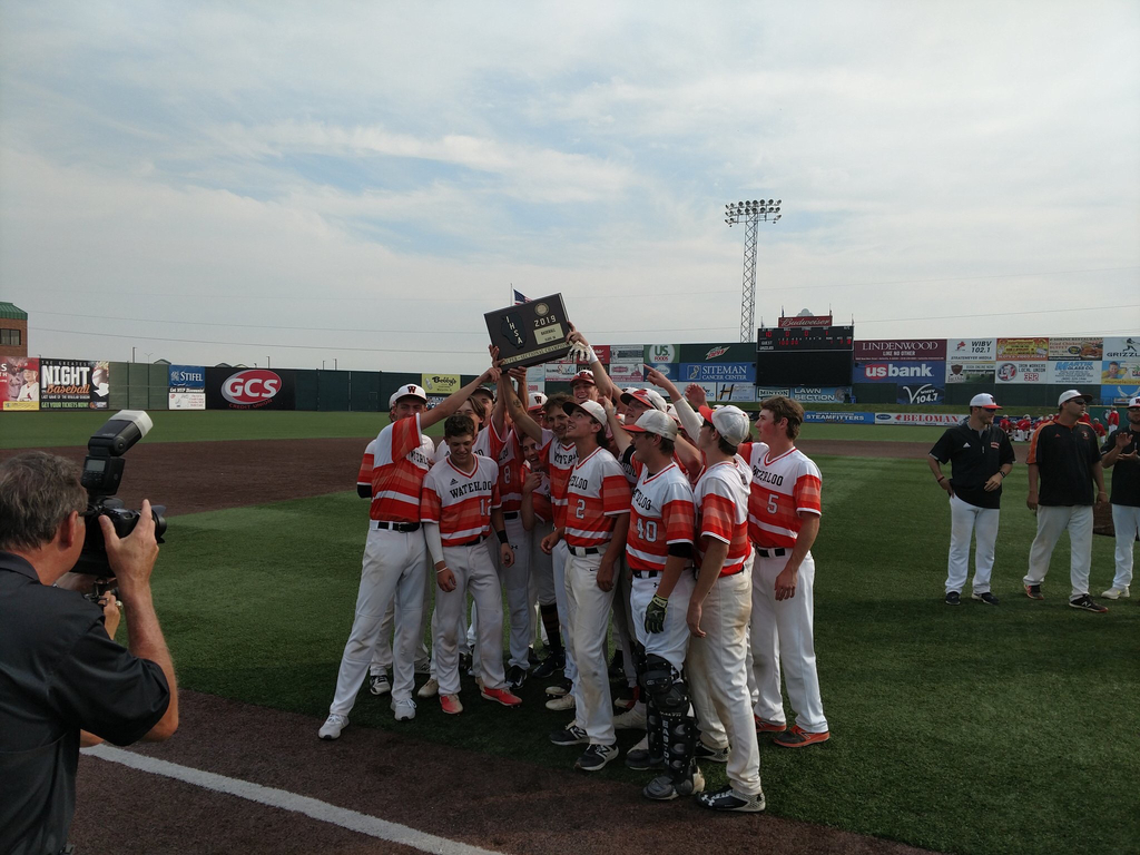 Varsity Baseball is your super sectional champion!