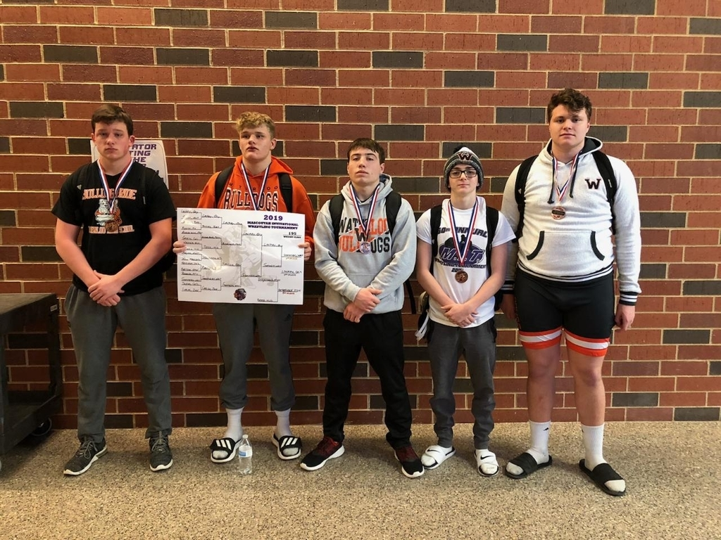 Wrestling Medalists