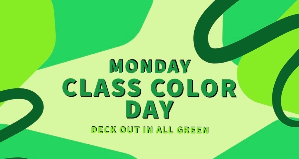 Virtual Senior Week-Class Color Day